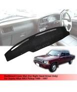(RHD) Interior Dashboard Mat Cover For Toyota Hilux MK3 Pickup 1989 - 1997 - $28.26