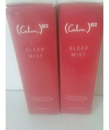 Calm Sleep Mist Product Red Pillow Spray Essential Oils Lavender Lot of ... - $19.79