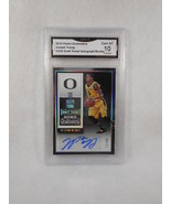2015 Panini Contenders 121 Joseph Young Draft Auto Rookie GMA Graded Gem 10 - $14.80