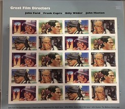 USPS Great Movio Directors全张20张Forever邮票MnH 2012 -US 4 ...  -  $ 18.00