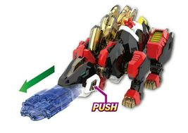 Miniforce Stego Magma Transformation Action Figure Super Dinosaur Power Part 2 image 3