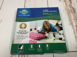 Interior 2-Way Locking Cat Door Home Entry Access Opening up too 15 lbs - $9.85