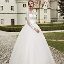 Luxury Wedding Bridal Ball Gown Sweetheart Neckline Lace Up image 1