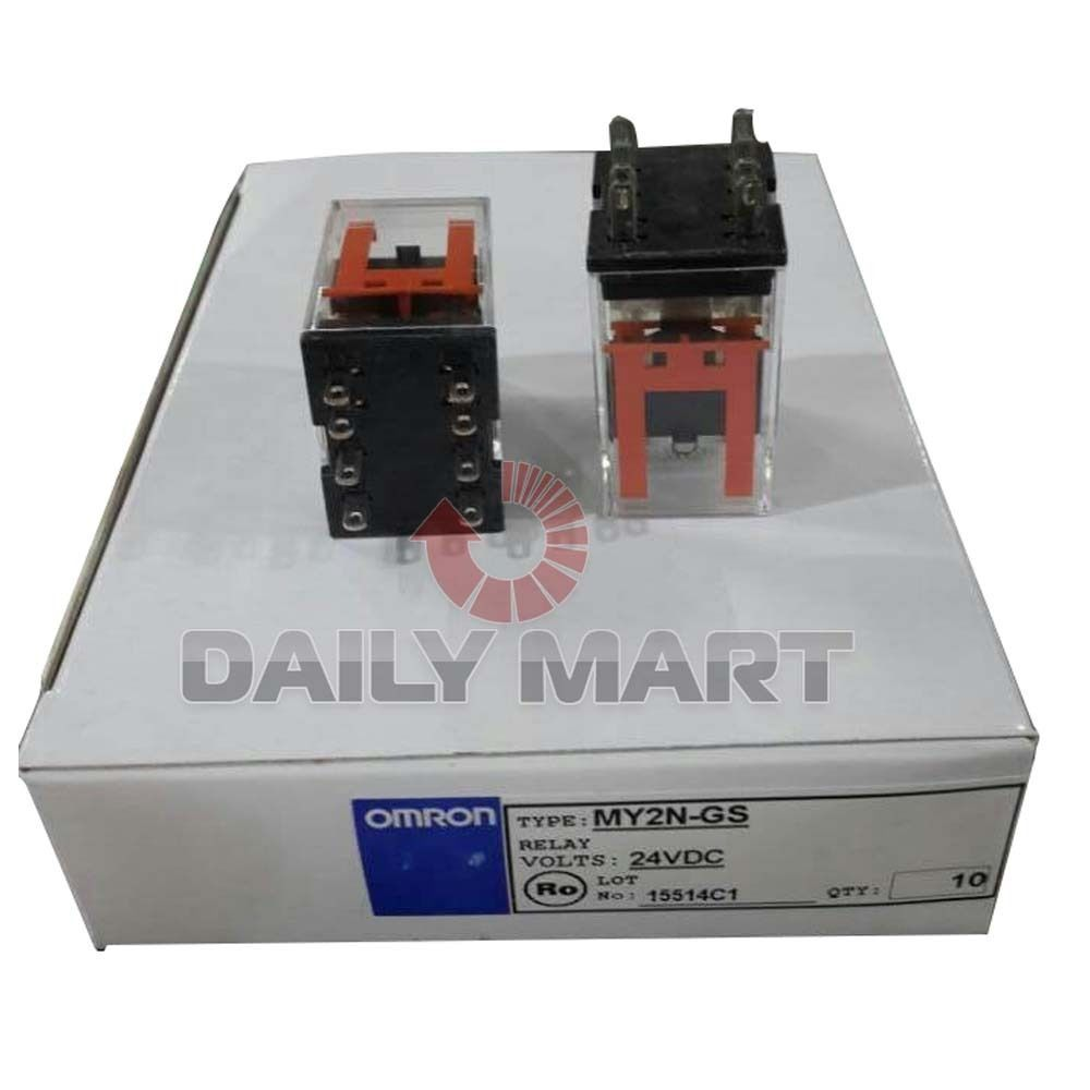 Omron My2n Gs 24vdc Intermediate Relay And Similar Items Switch S L1600