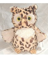 Mary Meyer Corporation 54710 10 Inch Leopard Wild Side Owl - $18.99