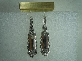 Watson Victoria Old 1890 Sterling Earrings - $106.87