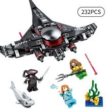 232pcs Black Manta Strike DIY Building Blocks set with Super Hero Figure... - $22.99