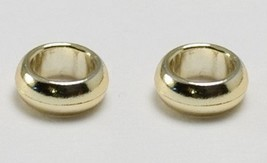 LEGO® Gold Chrome Ring x2 - from LOTR and Wedding (for minifigs)  - $0.98
