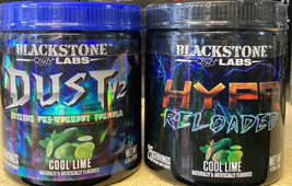 Blackstone Labs Pre-Workout Stack Dust V2 & Hype Reloaded - Cool Lime - $60.76
