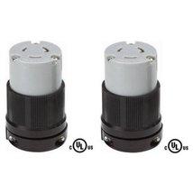 NEMA L6-20 Grounding Locking Connector, 20A 250V AC, 2 Pole 3 Wire, cUL ... - $19.99