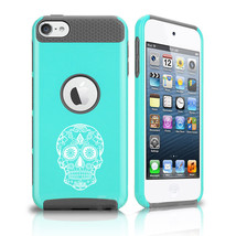 For Apple iPod Touch 5th 6th Shockproof Hard Case Cover Sugar Candy Skull - $14.99