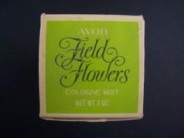 Avon Decanter Field Flowers Cologne Mist 3 Fl Oz Original Box Vintage 1970s - $13.45