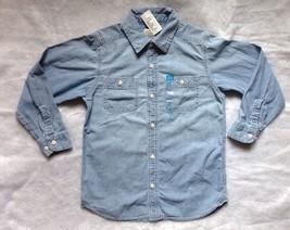 Childrens' Place Denim Shirt Size: M (7-8) New Ship Free Blue Рубашка - $29.99