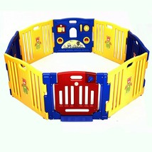 8 Panel Safety Play Center Baby Playpen - new (cy) - $159.99