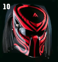 The Predator Motorcycle Helmet Nature (Dot / Ece Certified) - $355.00
