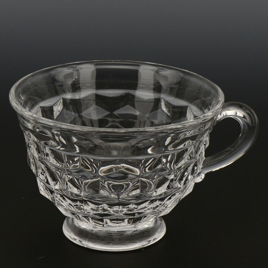 Fostoria American Crystal Footed Teacup