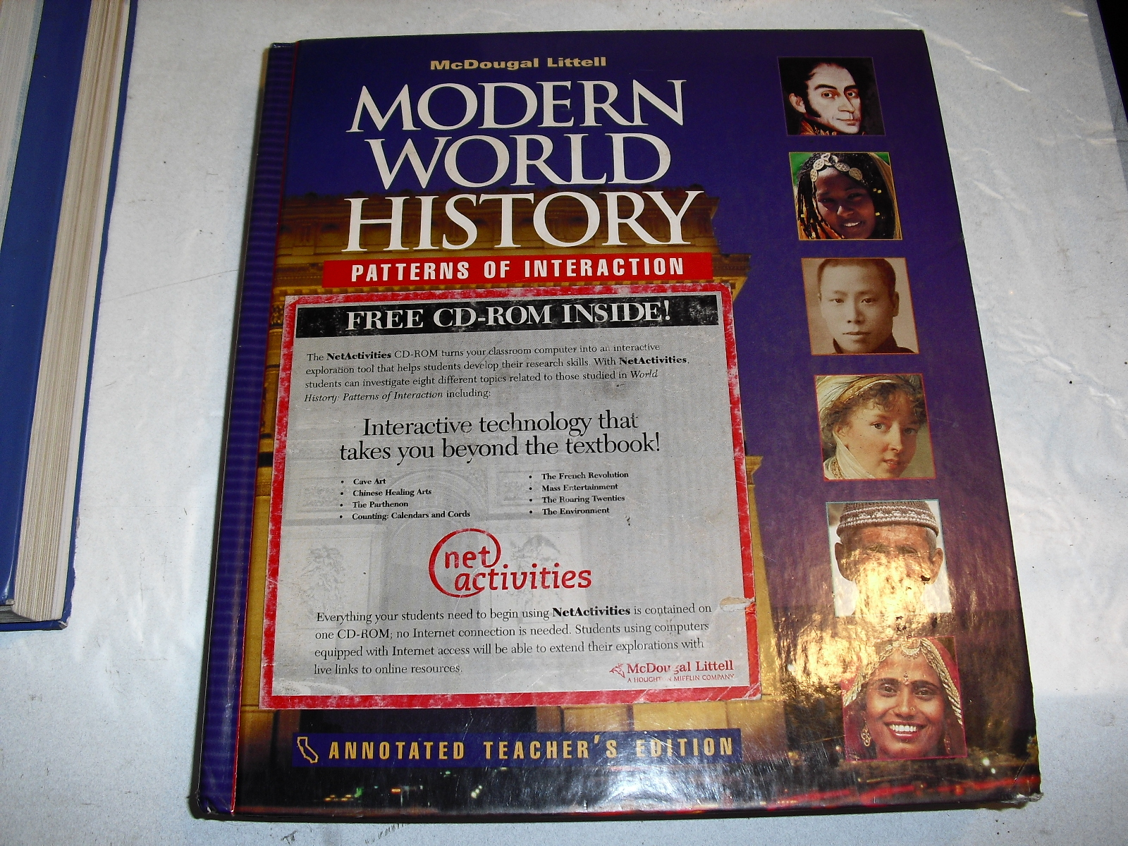 modern  world  history    with  cd