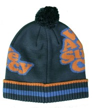 WeSC We Are The Superlative Conspiracy Unisex Blue Jacquard Nuncio Beanie Hat NW image 2