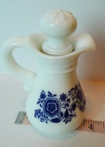 Avon Delft Blue and  White Pitcher replacement decanter - $17.77
