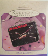 1998 Star Wars X-Wing Starfighter Tin Lunch Box Hallmark Keeepsake Ornam... - $13.98