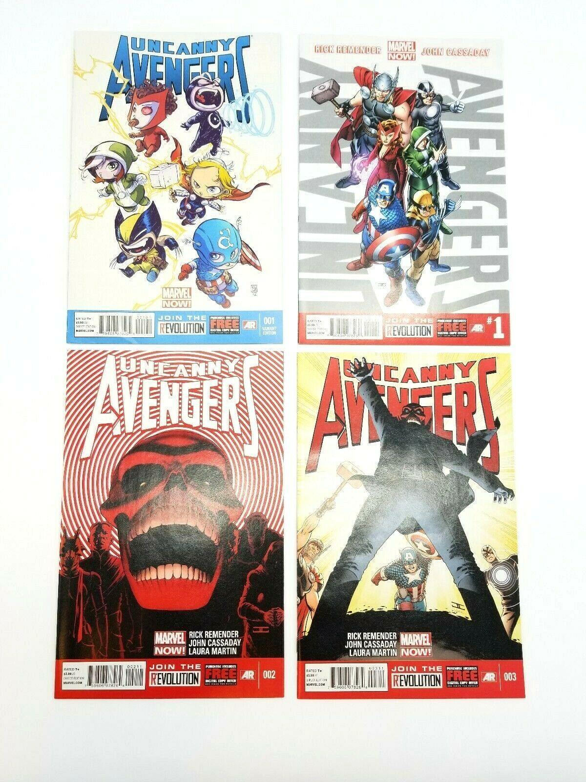 Uncanny Avengers 1-11 14-16 w/ Skottie Young Baby Variant Vol 1 2012 Comic Books image 2