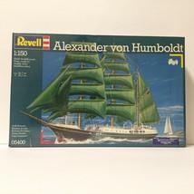 1993 Revell Alexander von Humboldt Ship Boat Model #05400 New Sealed   Free Ship - $115.00