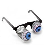Halloween Scary Pop Eyes Out Dropping Eyeball Glasses Horror Halloween P... - ₨368.28 INR