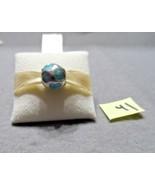 Authentic Pandora  LOVE YOU Light Blue Enamel Bead 790643EN18  (#41) - $21.00