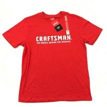 Nuovo Craftsman Maglietta da Uomo Reed Manica Corta Tuttofare Muscolo Ma... - $14.73