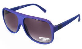 Sunscape Dazed N Confused Collection Graham Matte Blue Sunglasses