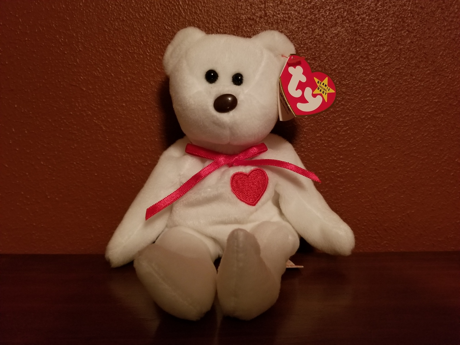 Beanie Babies-original The End Halo Ii Princess Punctual Timing Ty Rare 18 Ty Beanie Baby Babies Teddy Bears Retired 1993