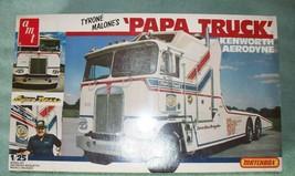 "ORIGINAL 1/25 AMT/Matchbox Kenworth Aerodyne ""PaPa Truck"", sealed. Collectible! - $109.00"