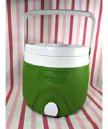 Fab Vintage MoD Coleman Avocado Picnic Jug Cooler with Spout & Easy Carry Handle - $20.00