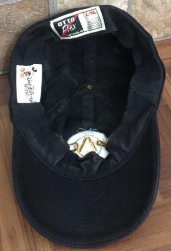 Walt Disney World EPCOT MISSION SPACE Logo Kids Flex Fit L-XL Cap Hat Dark a242a4b63932