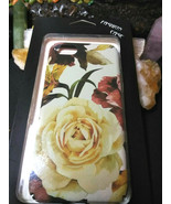 Cell Phone Case Iphone 7 and 8 White Rose Color - $7.42