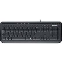 Microsoft Wired 600 Keyboard USB Black French ANB-00003 - $43.79