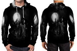 Zombie in the dark HD Wallpaper Hoodie Fullprint Men - $41.80