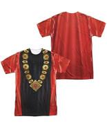 Authentic Star Trek TNG Next Generation Q Uniform Costume Front Back T-s... - £25.02 GBP+