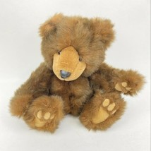 """Vintage Grizzles Russ Berrie Plush Brown Stuffed Teddy Grizzly Bear 9"""" - $14.84"""