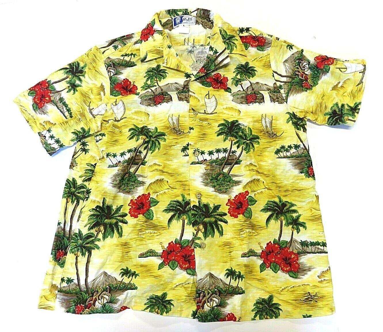 9c9727c1 VTG RJC Hawaiian Multicolor Button Up Shirt and 37 similar items. 57