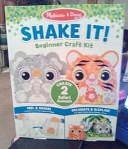 Melissa & Doug Shake It! Beginner Craft Kit Decorate & Display Farm Animals Peel - $11.40