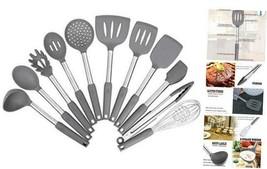 Kitchen Utensil Set,Silicone Cooking Utensils,Stainless Steel Kitchen Ut... - $43.89