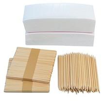 "200 PCS 3""x8"" Waxing Strips Non-woven Wax Strip, baotongle Hair Removal Wax Stri"