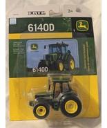 John Deere TBE45079 ERTL 6140D Die Cast Metal Replica Tractor - $7.99