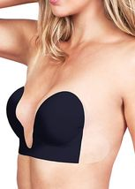 Fullness Backless Strapless Self Adhesive Push-Up V-Bra 7008 image 5
