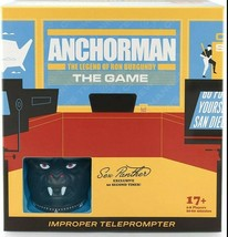 NEW SEALED 2020 Anchorman Ron Burgundy Improper Teleprompter Board Game - $46.42