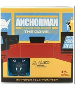 NEW SEALED 2020 Anchorman Ron Burgundy Improper Teleprompter Board Game - $49.49