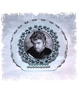 George Michael 'Wham' Cut Glass Diamante Round Plaque gift  keepsake |8 - $32.44