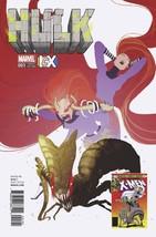 Hulk #1 Marvel Comics 2016 Pascal Campion ICX Variant Cover Medusa She Hulk #189 - $5.93