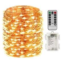 LightsEtc 66 Feet 200 Led 8 Modes Indoor Fairy String Lights with Batter... - $19.54